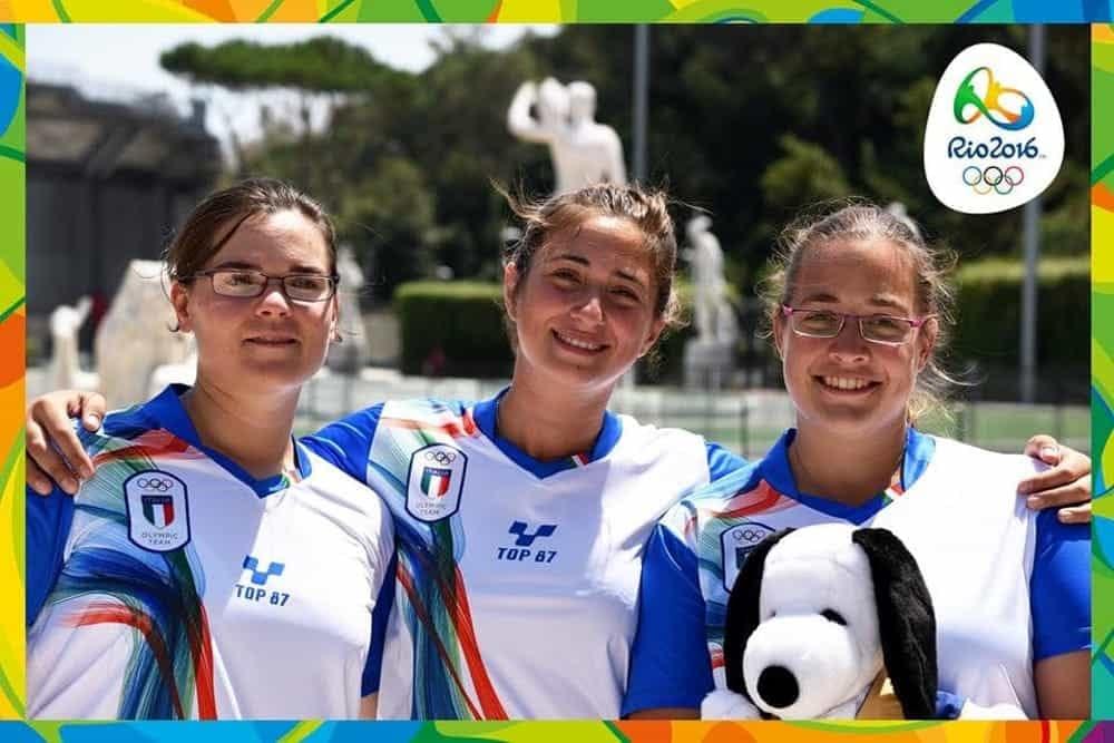 Le arciere Italiane hanno conquistato il IV posto alle Olimpiadi di Rio 2016